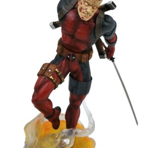 Deadpool - Unmasked Marvel Gallery PVC Diorama