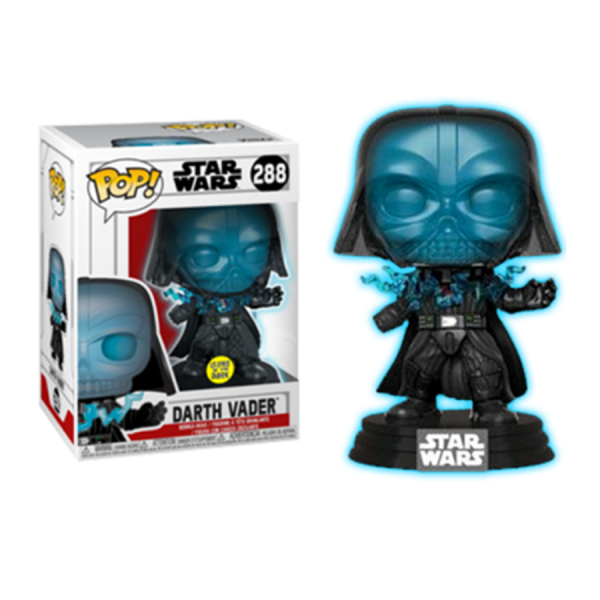 Star Wars - Darth Vader (Electrocuted Glow) US Exclusive Funko Pop! Vinyl [RS]