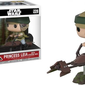 Star Wars - Leia on Speeder Bike Funko Pop Deluxe