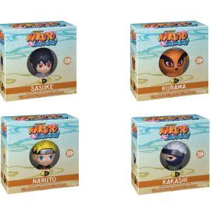 "Naruto - Team 7 5 Star 4"" Vinyl Figure Bundle (Set of 4)"