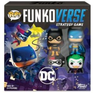 Funkoverse - DC 100 4-pack Strategy Board Game