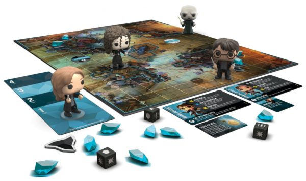 Funkoverse - Harry Potter 100 4-pack Strategy Board Game