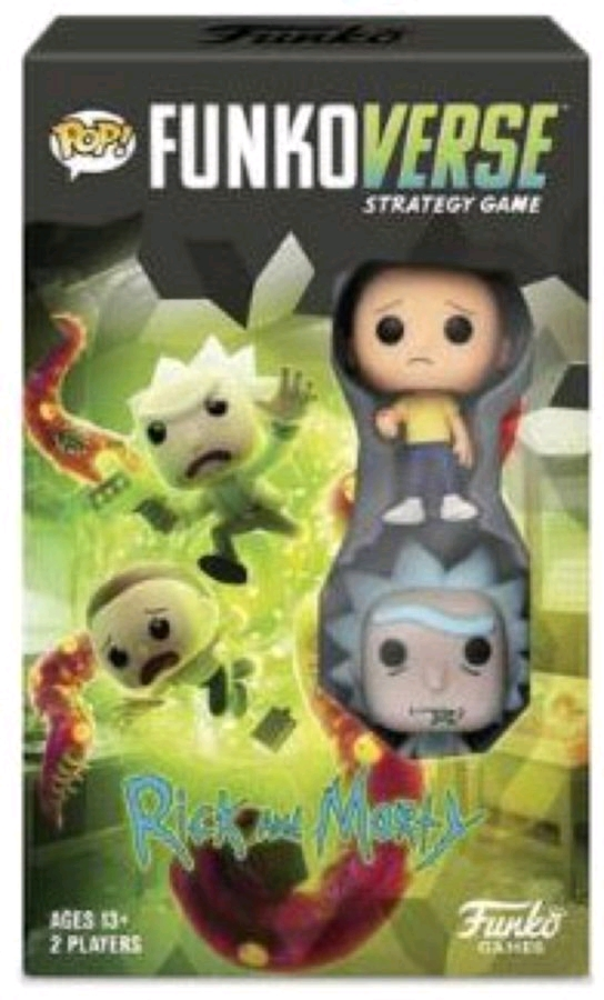 Funkoverse - Rick & Morty 100 2-pack Expandalone Strategy Board Game