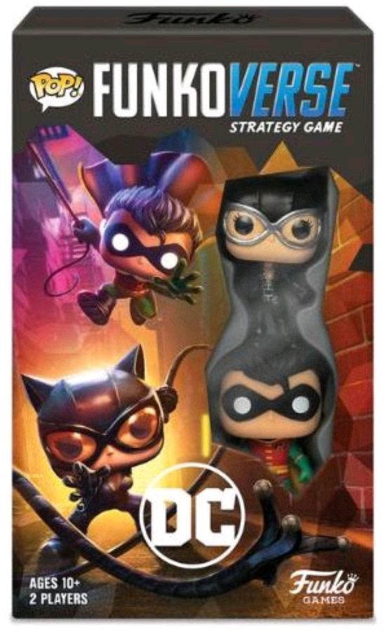 Funkoverse - DC 101 2-Pack Expandalone Strategy Board Game