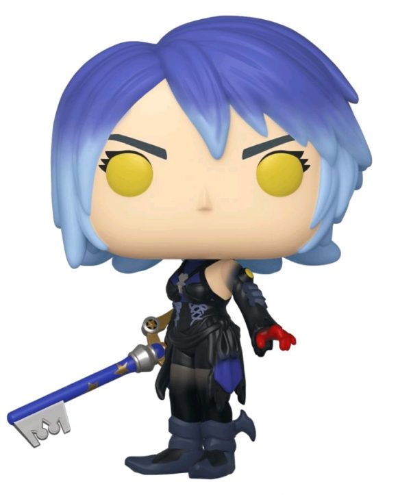 Kingdom Hearts 3 - Dark Aqua with Keyblade US Exclusive Pop! Vinyl
