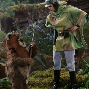 Star Wars - Leia & Wicket Return of the Jedi 1:6 Scale Action Figure