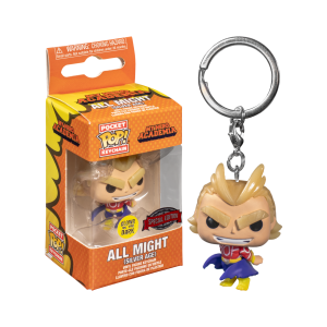 My Hero Academia - All Might Silver Age Pocket Pop! Keychain