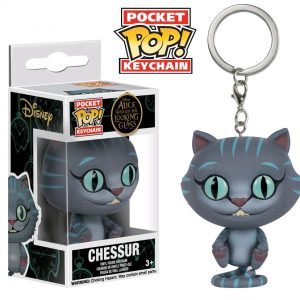 Alice Through the Looking Glass - Chessur Pocket Pop! Keychain