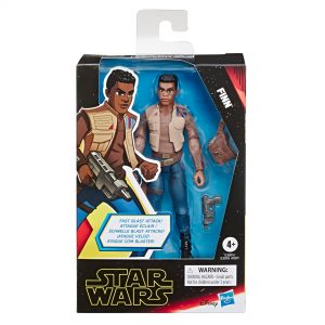 Star Wars Galaxy of Adventures Finn 5-Inch-Scale Action Figure