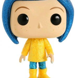 Coraline in Raincoat Diamond Glitter Pop! Vinyl