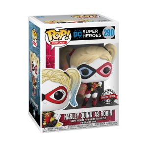 DC Comics - Harley as Robin Pop! Vinyl