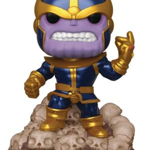 "Marvel - Thanos Infinity Saga Metallic 80th Anniversary 6"" Deluxe Pop! Vinyl"