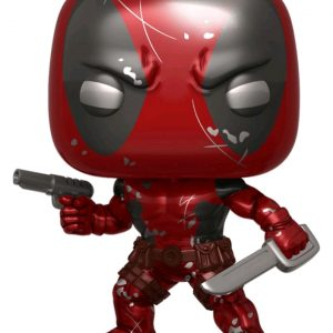 Deadpool - Deadpool 1st Appearance Metallic 80th Anniversary US Exclusive Pop! Vinyl