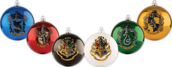 Harry Potter - House Crest Bauble Set