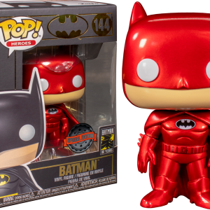 Batman - Batman Red Metallic 80th Anniversary Pop! Vinyl