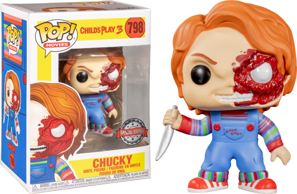 Child's Play 3 - Chucky Battle Damaged Pop! Vinyl