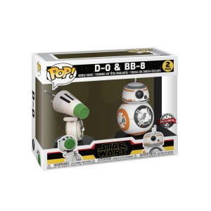 Star Wars - BB-8 & D-0 Episode IX Rise of Skywalker US Exclusive Pop! Vinyl 2-pack
