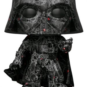 Star Wars - Darth Vader (Futura) US Exclusive Pop! with Protector