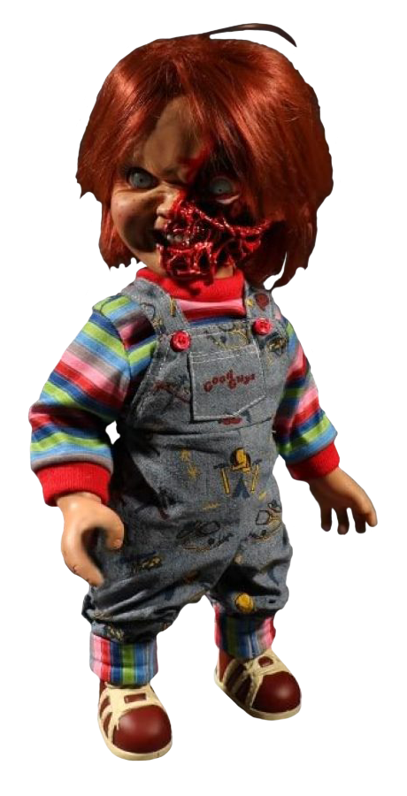 """Child's Play 3 - Chucky Pizza Face 15"""" Talking Action Figure"""