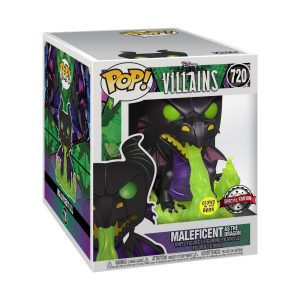 "Sleeping Beauty - Maleficent Dragon Glow in the Dark 6"" Super Sized Pop! Vinyl"