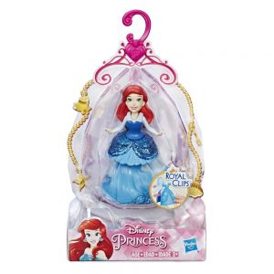 Disney Princess Ariel Doll with Royal Clips Fashion