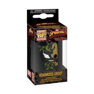 Venom - Venomized Baby Groot Pocket Pop! Keychain