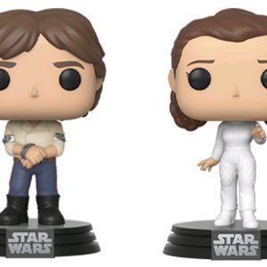Star Wars - Han & Leia Pop! Vinyl 2pk