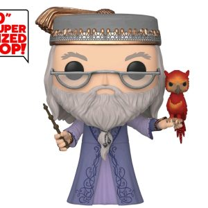 """Harry Potter - Dumbledore with Fawkes 10"""" Pop! Vinyl"""