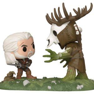 The Witcher - Geralt vs Leshen Pop! Moment Vinyl 2-Pack