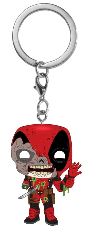 Marvel Zombies - Deadpool Pocket Pop! Keychain