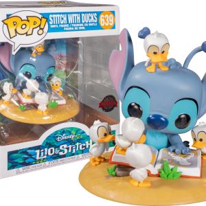 Lilo & Stitch - Stitch with Ducks Deluxe Pop! Vinyl