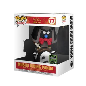 Mulan - Mushu riding Panda ECCC 2020 Exclusive Pop! Ride