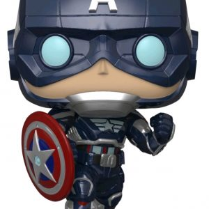 Avengers (Video Game 2020) - Captain America Glow US Exclusive Pop! Vinyl