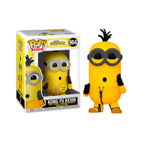 Minions 2: Rise of Gru - Kevin Kung Fu Glow US Exclusive Pop! Vinyl