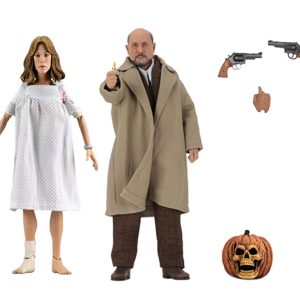 """Halloween 2 - Dr Loomis & Laurie Strode 8"""" Action Figure 2-pack"""