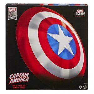 """Marvel Legends 80th Anniversary Captain America Shield 24"""" Comic Replica"""