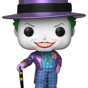 Batman 1989 - Joker with Hat Metallic US Exclusive Pop! Vinyl