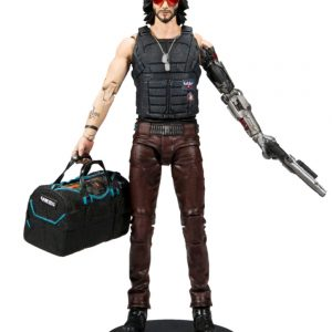 "Cyberpunk 2077 - Johnny Silverhand with Duffle Bag 7"" Action Figure"