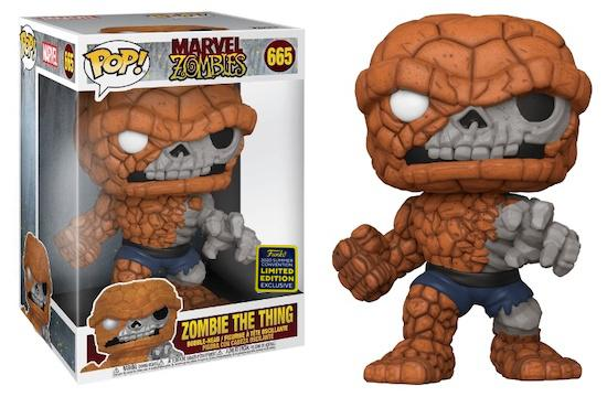 """Marvel Zombies - The Thing 10"""" Pop! Vinyl Figure SDCC 2020"""