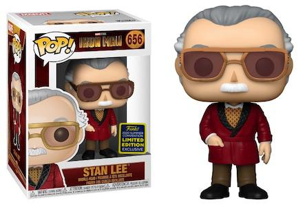 Stan Lee - Cameo Iron Man Pop! Vinyl Figure SDCC 2020