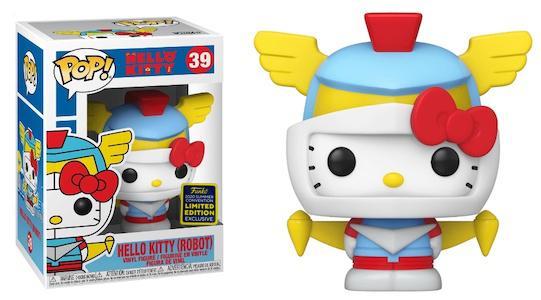 Hello Kitty - Robot Kitty Pop! Vinyl Figure SDCC 2020