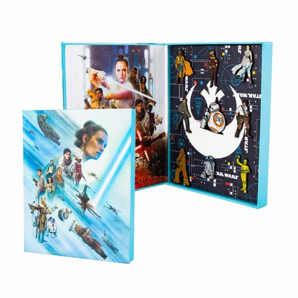 STAR WARS THE RISE OF SKYWALKER - THE RESISTANCE PIN SET