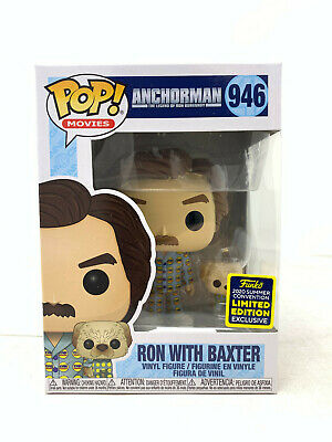 ANCHORMAN - RON with BAXTER SDCC 2020 FUNKO POP VINYL