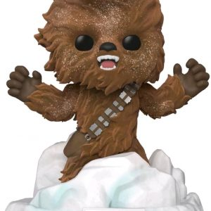 Star Wars - Chewbacca Flocked US Exclusive Pop! Deluxe Diorama
