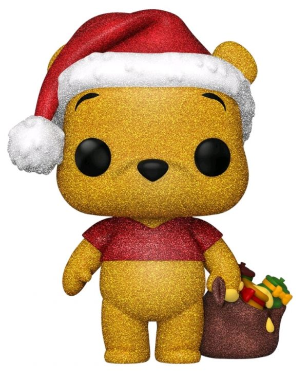 Winnie the Pooh - Pooh Diamond Glitter Holiday US Exclusive Pop! Vinyl