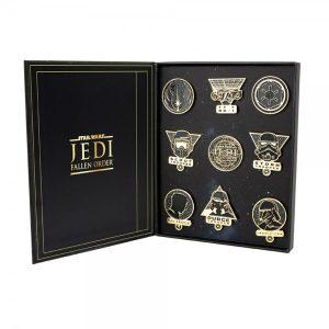 Star Wars - Jedi: Fallen Order Premium Pin Badge Set of 9
