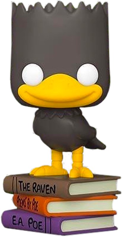 Simpsons - Bart as Raven US Exclusive Pop! Vinyl