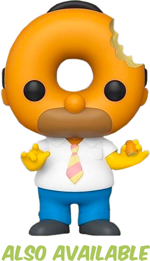 Simpsons - Homer Donut Head US Exclusive Pop! Vinyl