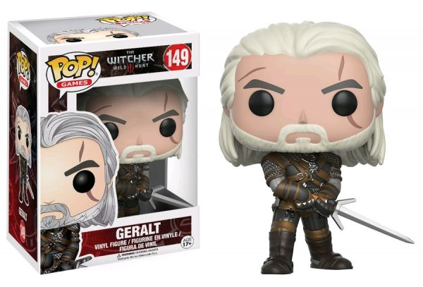 The Witcher 3: Wild Hunt - Geralt Pop! Vinyl