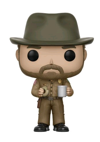 Stranger Things - Hopper (with chase) Pop! Vinyl